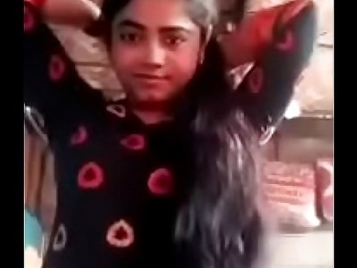 Poor village girl naked selfie for lover