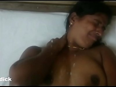 Hema aunty getting cum shower shots